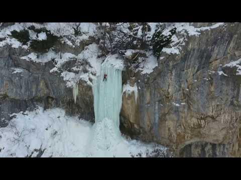 Medkovski Vodopad - Ledeno katerene