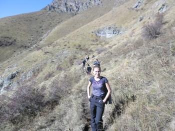 Tour Guide Galina Mihaylova - Photo: Central Balkan National Park/Stoyan Hristov