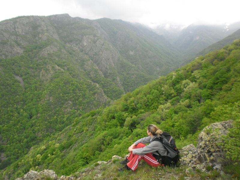Tour Guide Galina Mihaylova - Photo: Central Balkan National Park/Stoyan Hristov