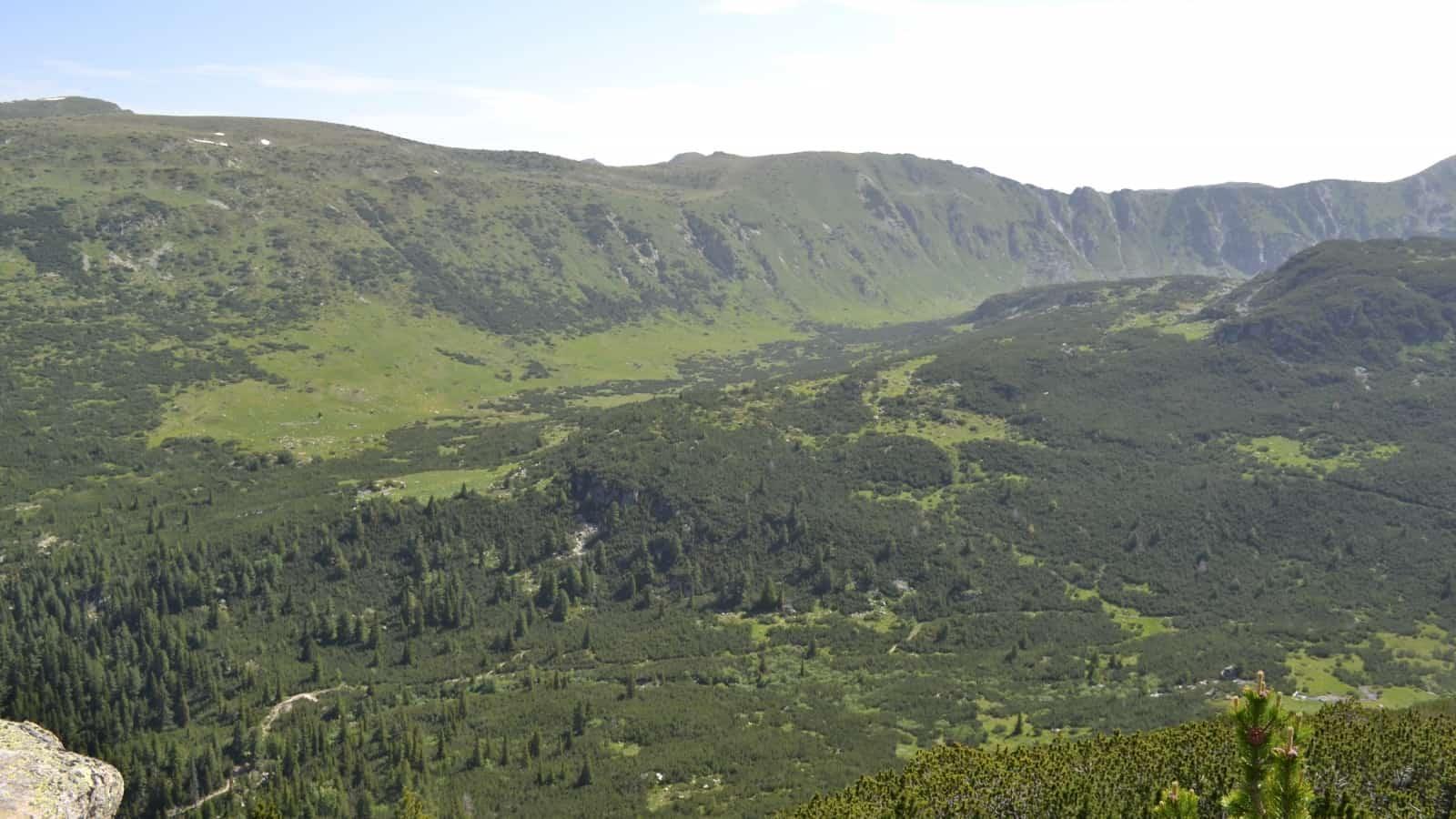 Mountain panorama - Photo: Rila Monastery Park Directorate