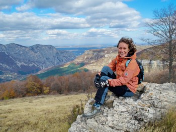 Olya Genova, Vrachanski Balkan Nature Park tour guide