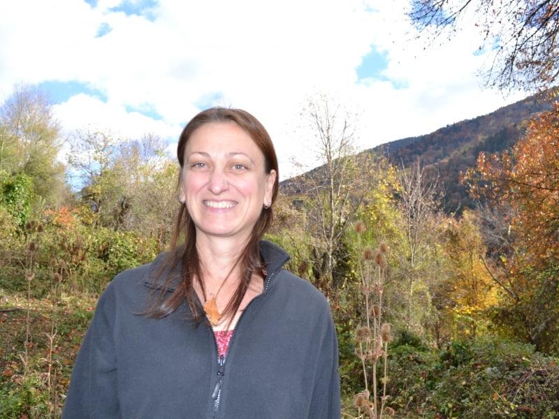 Rayna Pashova - At the Rila river - Photo: Rila Monastery Nature Park Directorate