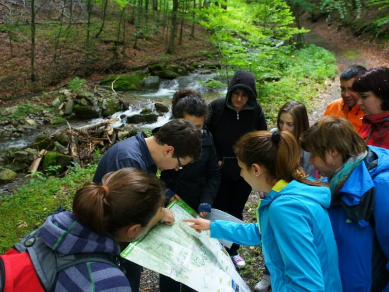 Sergey Sergeev Alksandrov and group   Central Balkan National Park Nature Guide