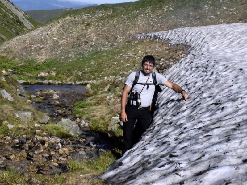 Tour Guide Stoyan Hristov - Photo: Central Balkan National Park