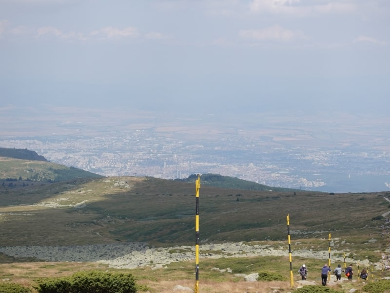 "Guided Tour ""Above the rooftops of Sofia"" in Vitosha Nature Park 