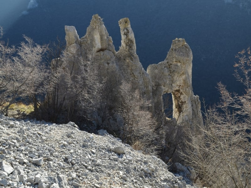 Natural fortress Vratsata pass - photo: Vrachanski Balkan Nature Park